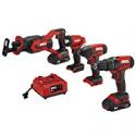 Deals List: SKIL 4-Tool Combo Kit 20V Cordless Drill Driver CB739601