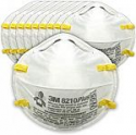 Deals List: 3M Particulate Respirator 8210PlusPro, N95, Smoke, Dust, Grinding, Sanding, Sawing, Sweeping, 10/Pack