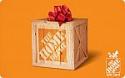 Deals List: $110 Home Depot Gift Card