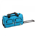 Deals List: Rockland Luggage Rolling 22-Inch Duffle Bag