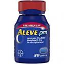 Deals List: Aleve PM with Easy Open Arthritis Cap, Caplets 80 Count