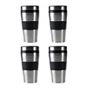 Deals List: 4-Pack BergHOFF Orion 16 oz. Stainless Steel Coffee Mug Set