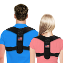 Deals List: Posture Corrector For Men And Women - USA Patented Design - Adjustable Upper Back Brace For Clavicle Support and Providing Pain Relief From Neck, Back and Shoulder (Universal)