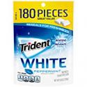 Deals List: Trident White Sugar Free Gum, Peppermint, 180 Count