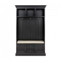 Deals List: Home Decorators Collection Royce Black 49 in. Hall Tree