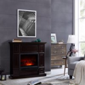 Deals List: Bold Flame 43.31 inch Electric Fireplace in Dark Chocolate