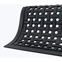 Deals List: WaterHog Fashion Commercial-Grade Entrance Mat, Indoor/Outdoor Charcoal Floor Mat 5' Length x 3' Width, Charcoal by M+A Matting - 280-154-5F3F