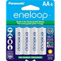 Deals List: Panasonic BK-3MCCA4BA eneloop AA 2100 Cycle Ni-MH Pre-Charged Rechargeable Batteries, 4 Pack