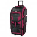 Deals List: Travelers Club 30-in. Multi-Pocket Upright Rolling Duffel Bag