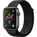 Deals List: Apple Watch Series 4 (GPS + Cellular, 44mm, Space Gray Aluminum, Black Sport Loop)