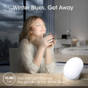 Deals List: Miroco Light Therapy Lamp, UV-Free 10000 Lux LED Bright White Therapy Light, Touch Control with 3 Adjustable Brightness Levels, Memory Function & Compact Size for a Happy Life