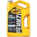 Deals List: ennzoil Ultra Platinum 0W-20 Full Synthetic Motor Oil 5Qt