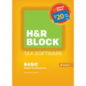 Deals List: H&R Block 15 Basic for PC Digital + $20 Walmart GC Refund Bonus