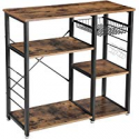 Deals List: VASAGLE Industrial Kitchen Bakers Rack Coffee Bar