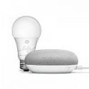 Deals List: Google Smart Light Starter Kit Bridge + 2-Pack GE C by GE 60-Watt EQ A19 Full Color Dimmable LED Light Bulbs