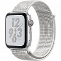 Deals List: Apple Watch Nike+ Series 4 (GPS Only, 44mm, Silver Aluminum, Summit White Nike Sport Loop)