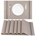 Deals List: Artand Placemat Crossweave Woven Table Mats Set of 6