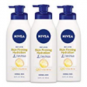 Deals List: NIVEA Skin Firming Hydrating Body Lotion, 16.9 Fl. Oz (Pack of 3)