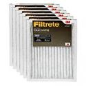 Deals List: Filtrete 16x25x1, AC Furnace Air Filter, MPR 300, Clean Living Basic Dust, 6-Pack
