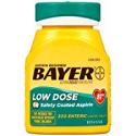Deals List: 300 Count Aspirin Regimen Bayer 81mg Enteric Coated Tablets