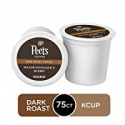 Deals List: Peet's Coffee Major Dickason's Blend, Dark Roast, 75 Count Single Serve K-Cup Coffee Pods for Keurig Coffee Maker