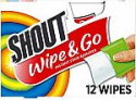 Deals List: Shout Wipes, 12-Count (Pack of 12)