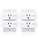 Deals List: 4 Pack TanTan Smart Plug Gosund 16A Wifi Outlet Mini Socket