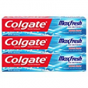 Deals List: Colgate Max Fresh Toothpaste with Mini Breath Strips, Cool Mint - 7.6 Ounce (3 Pack)