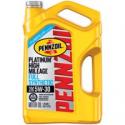 Deals List: Pennzoil Platinum High Mileage 5W-30 Synthetic Motor Oil 5-qt