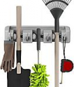 Deals List:  2-Pack Stalwart Shovel, Rake and Tool Wall Mounted Organizer Holder with Hooks