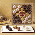 Deals List: Ferrero Rocher Fine Hazelnut Milk Chocolates, 24 Count, Assorted Coconut Candy and Chocolate Collection, Valentine's Day Gift Box, 9.1 oz