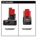 Deals List: Milwaukee M12 2-pk battery combo (48-11-2460S) including XC6 and CP3