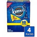 Deals List: Oreo Chocolate Sandwich Cookies - 72 Snack Packs (144 Cookies Total) by Oreo