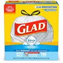 Deals List: 110-Count Glad Tall Kitchen Drawstring Trash Bags 13 Gallon