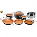 Deals List: Gotham Steel 12-Piece Nonstick Frying Pan and Cookware Set