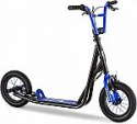 Deals List: Mongoose Expo Scooter, Featuring Front and Rear Caliper Brakes and Rear Axle Pegs with 12-Inch Inflatable Wheels, Available in Multiple Colors
