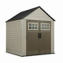 Deals List: Rubbermaid 7x7 Resin Outdoor Storage Shed with Windows and Utility Hooks