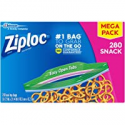 Deals List: 280-Count Ziploc Snack Bags