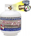 Deals List: 20-Lb Flame King Empty Propane Cylinder w/ Type 1 Overfill Protection Device Valve & Built-In Gauge