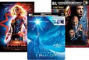 Deals List: Disney Steelbook 4K Blu-ray Movies: Frozen, Captain Marvel, Iron Man