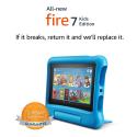 "Deals List: Fire 7 Kids Edition Tablet, 7"" Display, 16 GB, Blue Kid-Proof Case"