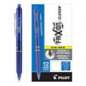 Deals List: 12-Ct Pilot FriXion Clicker Erasable Gel Ink Pens Blue Ink