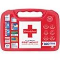Deals List: Johnson & Johnson All-Purpose Portable Compact First Aid Kit 140-Piece