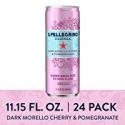 Deals List: 24Pk S.Pellegrino Essenza Dark Morello Cherry Water 11.15-Oz
