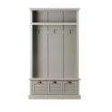 Deals List: Home Decorators Collection Shutter Grey Hall Tree