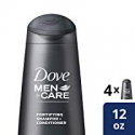 Deals List: Dove Men+Care 2 in 1 Shampoo and Conditioner Thick and Strong 12 oz, 4 count