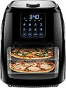 Deals List: Chefman 6.3 Quart Digital Air Fryer+ Rotisserie, Dehydrator, Convection Oven, 8 Touch Screen Presets Fry, Roast, Dehydrate & Bake, BPA-Free, Auto Shutoff, Accessories Included, XL Family Size, Black