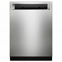 Deals List: KitchenAid Top Control Built-In Tall Tub Dishwasher in Printshield Stainless with Clean Water Wash System, 44 dBA (Model # KDPM354GPS)
