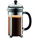 Deals List: Bodum Chambord French Press Coffee Maker, 1 Liter, 34 Ounce, Chrome