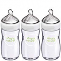 Deals List: NUK Simply Natural Baby Bottle, Clear, 9 Ounce (Pack of 3)